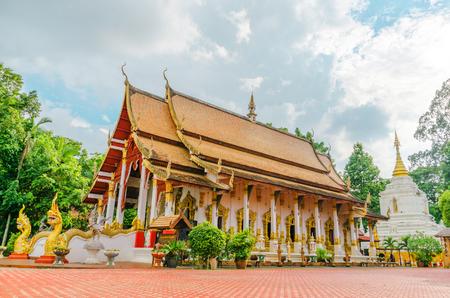 Viang kum kam, kan tome temple, Chiang mai, thailand Stok Fotoğraf