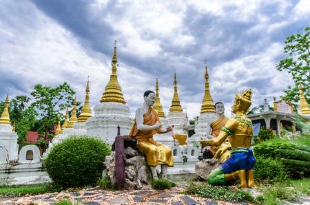Jay Dee Sound Temple, Lampang Province, Thailand 版權商用圖片