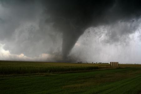 tornado: An F2 Long Track Tornado in South Dakota