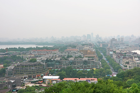 Hangzhou city scenery