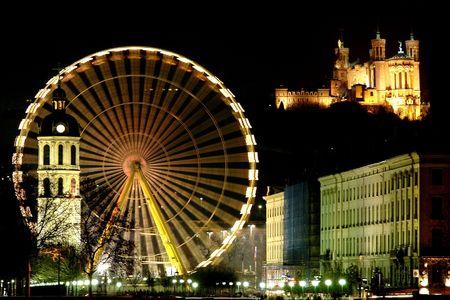 re: Behind the big wheel, Basilica of Fourvi�re