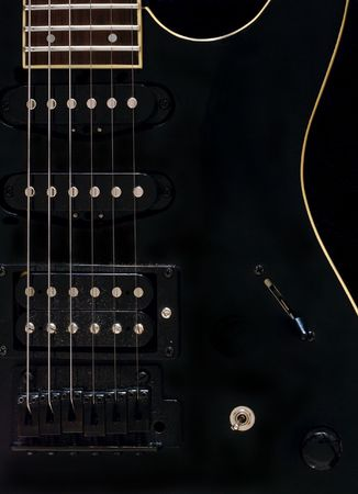 reverb: Guitar close-up