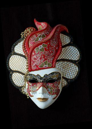 masquerade masks: venetian mask Stock Photo