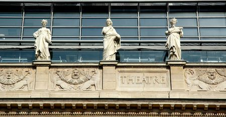 symetry: On the opera house fronton, 8 muses have been placed (Ukranie, the ninth one was removed to respect the symetry of the building).