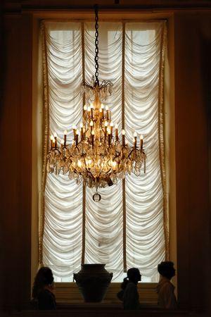 illuminated window photo