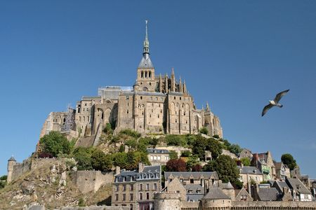 bulwark: Superb example of ancient architecture and Frances premier tourist attraction  Stock Photo
