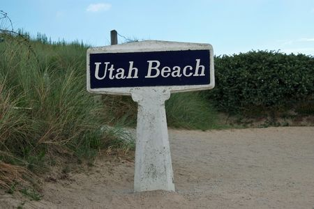 allied: Utah Beach was the codename for one of the Allied landing beaches during the D-Day invasion of Normandy, as part of Operation Overlord on 6 June 1944