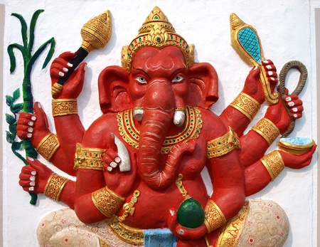Hindoeïstische God Ganesh  Redactioneel