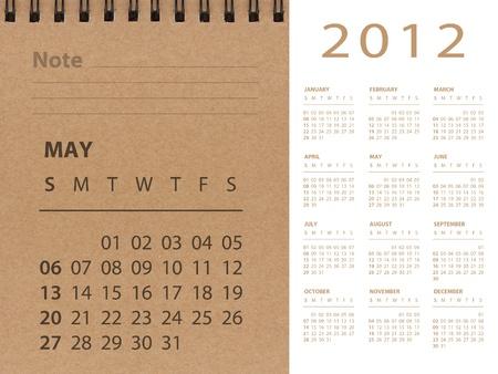 May of 2012 calendar photo