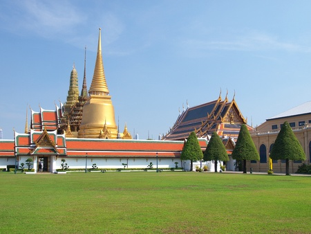 The Grand Palace ,Bangkok Thailand Stock Photo