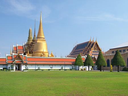 grand palace: The Grand Palace ,Bangkok Thailand Stock Photo