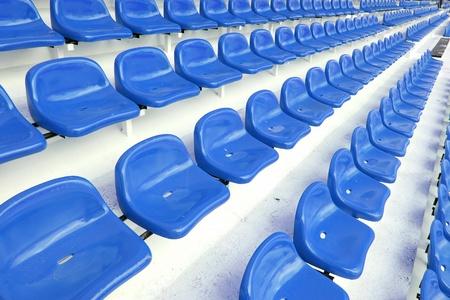 Red seat at Thep Hasadin Stadium in Thailand photo