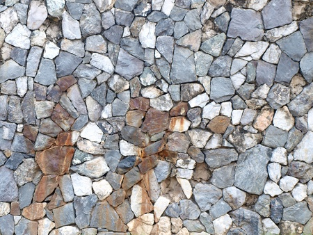 Abstract background of stone wall texture photo