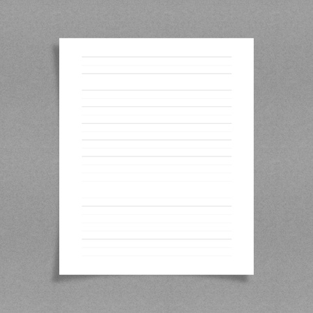 sticky paper: note paper with line on board background Stock Photo
