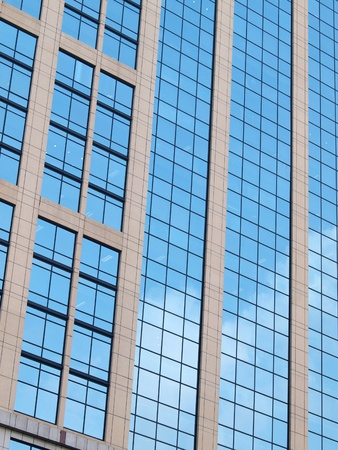 highrise glass building Stock Photo - 12734958