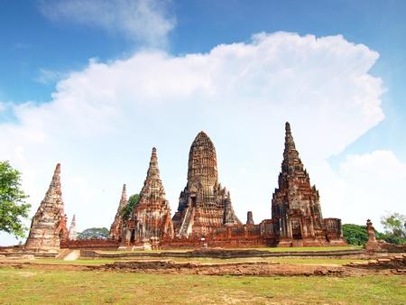 Wat Chaiwatthanaram, Ayutthaya, Thailand photo