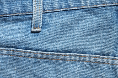 blue denim jeans texture, background Stock Photo - 13327875