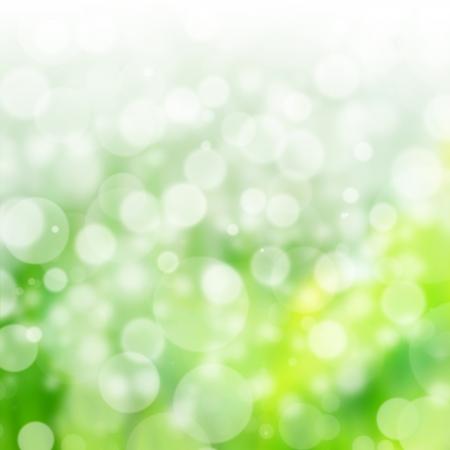 Mooie natuur Bokeh en groene achtergrond Stockfoto