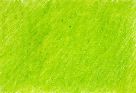 Geschilderd op papier krijt groene achtergrond