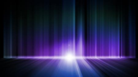 Dark abstract Aurora Wallpaper background Stock Photo - 15359821