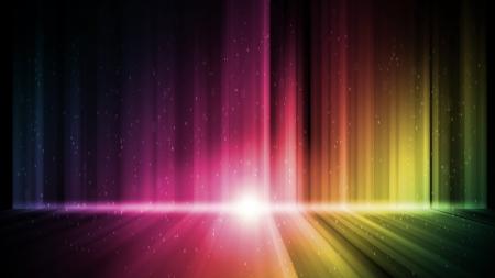 Dark abstract Aurora Wallpaper background Stock Photo - 15359829