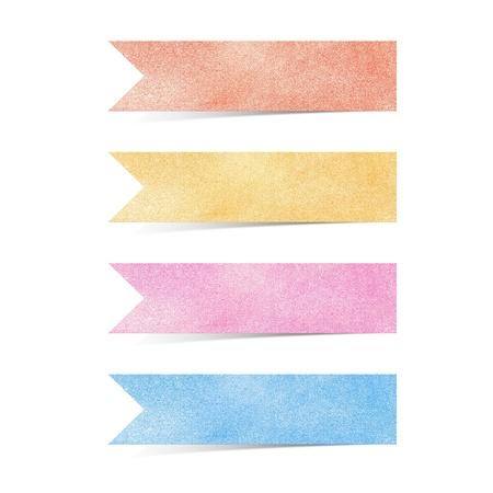 Papier textuur, Talk tag op een witte achtergrond