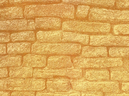 Paper texture,Grunge orange tone abstract red brick wall background Stock Photo - 15360499
