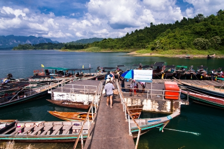 Cheo Lan lake  Khao Sok National Park  Thailand