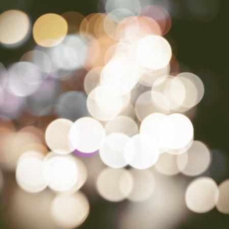 Abstract circular bokeh background photo