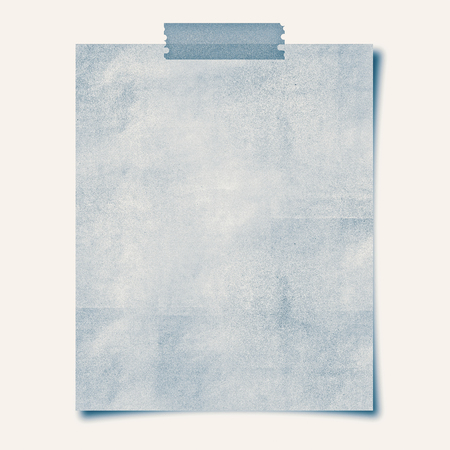 note paper: note paper taped on white background