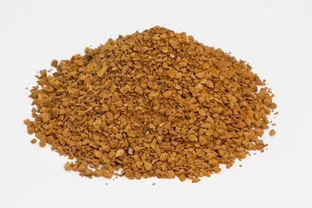 coffee powder isolated photo