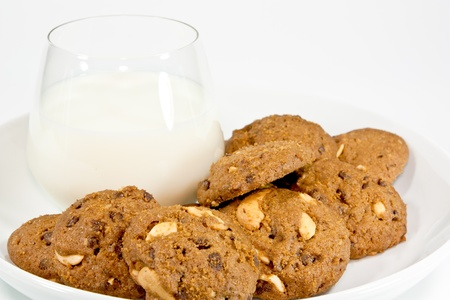 Milk and Cookies Stock Photo - 14202600