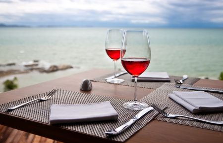 Romantic Red wine photo
