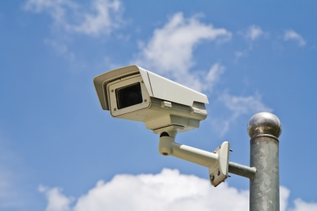 traffic control: CCTV security camera