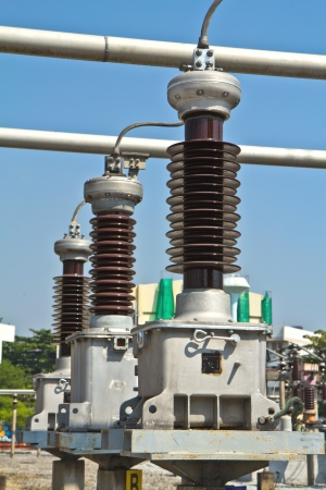 Circuit breaker high voltage Stock Photo - 17235048