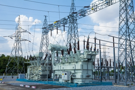 High voltage transformer Stock Photo - 19971453