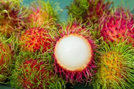 Fresh Rambutan fruits Stock Photo - 20324687