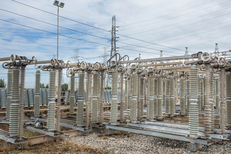isolator insulator: High voltage switchs at substation