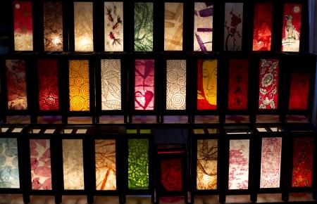 abatjour: luce della lanterna