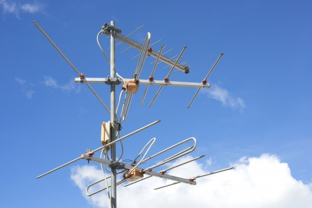 Yagi antenna to receive TV signals for households