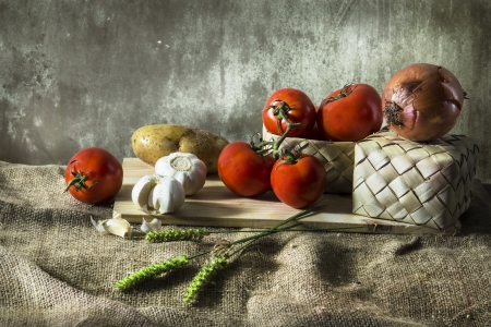 agricultural life: Still life photography with  agricultural Stock Photo