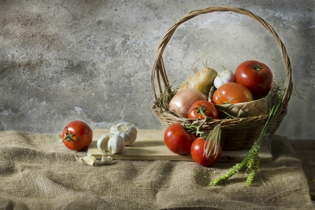 Still life photography with  agricultural Stock Photo