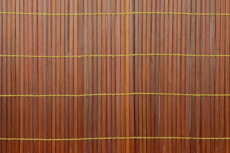 straw mat: Woven bamboo red as abstract texture background  made in Asia