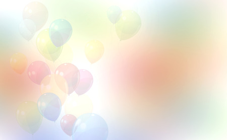 abstract balloon  background colorful photo
