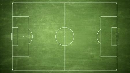 soccer field diagram line photo