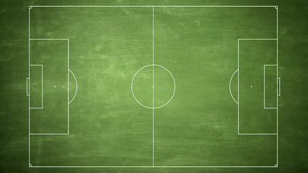 back ground: soccer field diagram line