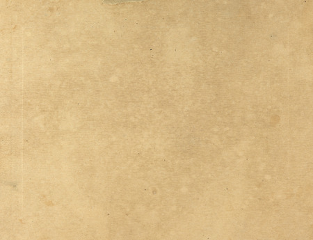 Vieja textura de papel - hoja de papel marrón.