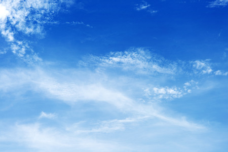 rainclouds: Blue sky with Cloud   use for nature wallpaper background and texture Stock Photo