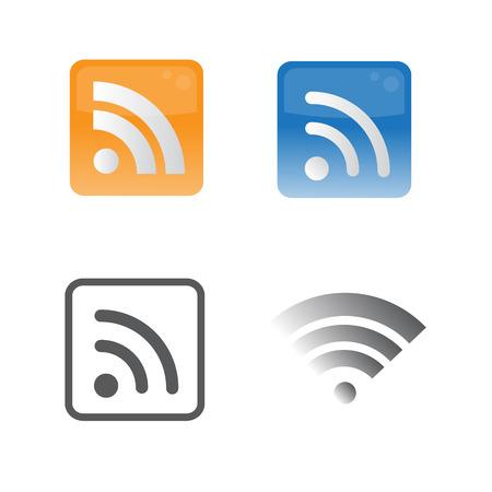 icon web wifi  symbol vector format Vector