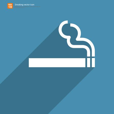 New smoking sign vector design Vector